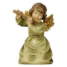 Bell angel with flute