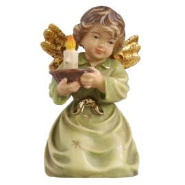 Bell angel candle-carrier