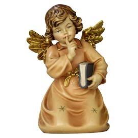 Bell angel with book