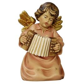 Bell angel with piano accordion