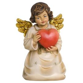 Bell angel with heart