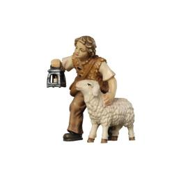 RA Boy with sheep and lantern
