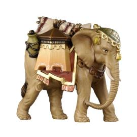 RA Elephant with luggage