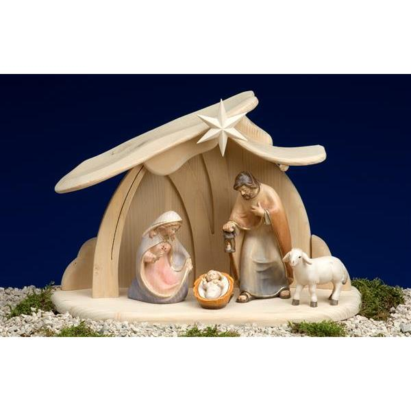 PE Nativity set 6 pcs-stable Pema for Hl.Family